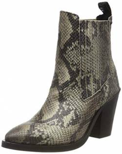 Replay Damen PORTEL Cowboystiefel, Grau (Ecru Black 2747), 38 EU von Replay