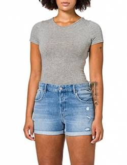 Replay Damen WA611 Shorts, 009 MEDIUM Blue, 27 von Replay