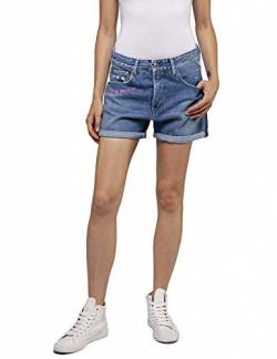 Replay Damen WA611N.000.108 600 Shorts, Blau (Super Light Blue 11), W(Herstellergröße: 26) von Replay