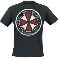 Resident Evil Umbrella Co. - Our Business Is Life Itself  T-Shirt  schwarz von Resident Evil