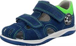 Richter Kinderschuhe Babel Sandale, Nautical/neon Green, 26 EU von Richter Kinderschuhe