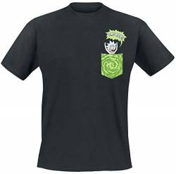 Rick and Morty Tiny Pocket Rick T-Shirt schwarz S von Rick and Morty