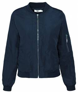 Rock Creek Selection Damen Bomberjacke Old School Bikerjacke Piloten Fliegerjacke Übergangsjacke D-179 S-XL [D-179 / WJ-5939 Navy Gr. XL] von Rock Creek Selection