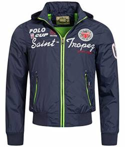 Rock Creek Selection Herren Jacke Übergangsjacke S-3XL [H-007 Navy Gr. L] von Rock Creek Selection