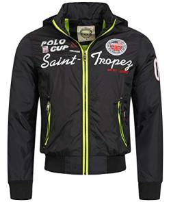Rock Creek Selection Herren Jacke Übergangsjacke S-3XL [H-007 Schwarz Gr. XXL] von Rock Creek Selection