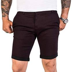 Rock Creek Designer Chino Shorts Herren Short Sommerhose Elegant Bermuda Kurz Herrenhose Anzugsshorts Herrenshorts Bermudas RC-2204 Weinrot W32 von Rock Creek