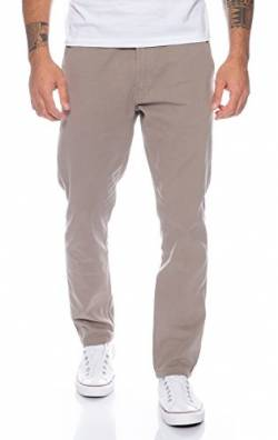 Rock Creek Herren Designer Chino Hose Regular Slim Chinohose RC-390 Hellgrau W33 L34 von Rock Creek