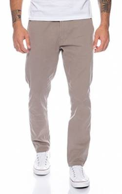 Rock Creek Herren Designer Chino Hose Regular Slim Chinohose RC-390 Hellgrau W38 L30 von Rock Creek