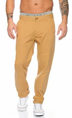 Rock Creek Herren Designer Chino Stoff Hose Chinohose Regular Fit Herrenhose W29-W40 RC-2083 [RC-2083 - Beige - W38 L34] von Rock Creek