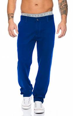 Rock Creek Herren Designer Chino Stoff Hose Chinohose Regular Fit Herrenhose W29-W40 RC-2083 [RC-2083 - Royalblau - W31 L30] von Rock Creek