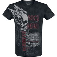 Rock Rebel by EMP Heavy Soul  T-Shirt  schwarz von Rock Rebel by EMP