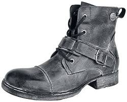 Rock Rebel by EMP Last Man Standing Männer Boot grau EU41 Leder Basics, Rockwear von Rock Rebel by EMP