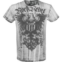 Rock Rebel by EMP Rebel Soul  T-Shirt  weiß von Rock Rebel by EMP