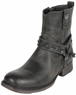 Rock Rebel by EMP Thunder Road Männer Boot Dunkelbraun EU47 Leder Basics, Rockabilly, Rockwear von Rock Rebel by EMP