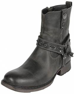 Rock Rebel by EMP Thunder Road Männer Boot Dunkelbraun EU43 Leder Basics, Rockabilly, Rockwear von Rock Rebel by EMP