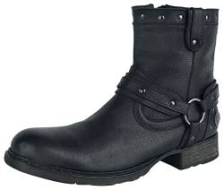 Rock Rebel by EMP Thunder Road Männer Boot schwarz EU47 Leder Basics, Rockwear von Rock Rebel by EMP