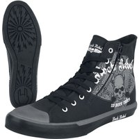 Rock Rebel by EMP Walk The Line  Sneaker high  schwarz von Rock Rebel by EMP