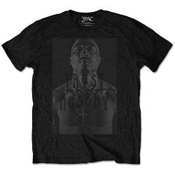 Rockoff Trade Herren T-Shirt Tupac Trust No One, Schwarz (Black), XX-Large von Rockoff Trade