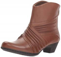 Rockport Damen Brynn Rouched Boot Stiefelette, Almond, 40 N EU von Rockport