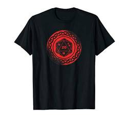 Pen and Paper RPG GAMER Würfel set Dice D20 PnP Brettspiel T-Shirt von Role Playing Game rpg gamer Fantasy Dragons Shirts