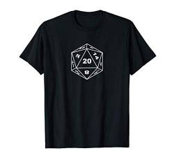 RPG Würfel Brettspiel Dice Dragons Pen and Paper Roleplaying T-Shirt von Role Playing Game rpg gamer Fantasy Dragons Shirts
