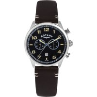 Rotary Exclusive Herrenchronograph in Braun GS00482/04 von Rotary