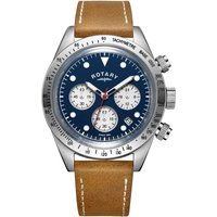 Rotary Exclusive Vintage Herrenchronograph in Braun GS00600/05 von Rotary