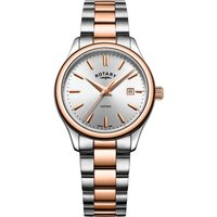 Rotary Oxford Damenuhr in Two-tone rose LB05094/06 von Rotary