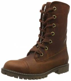 Roxy Damen Vance - Lace-up Leather Boots for Women Schlupfstiefel, Braun (Chocolate CHL), 37 EU von Roxy