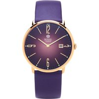 Royal London Classic Slim Unisexuhr in Lila 41369-06 von Royal London