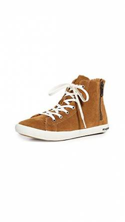 SEAVEES Damen Rockaway High Top Turnschuh, Whiskey, 41.5 EU von SEAVEES