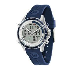 SECTOR NO Limits Herren Analog-Digital Quarz Uhr mit Silikon Armband R3271615003 von Sector
