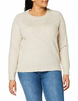 SELECTED FEMME Female Pullover Rundhalsausschnitt Woll MBirch von SELECTED FEMME