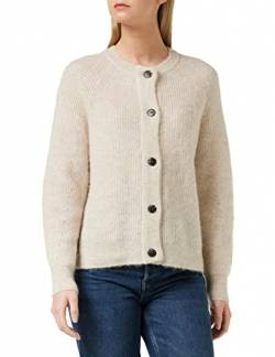SELECTED FEMME Female Strickjacke Wollmix LBirch von SELECTED FEMME