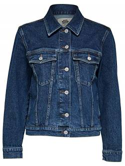 SELECTED FEMME Damen SLFSTORY Spruce Jacket W Jeansjacke, Medium Blue Denim, 38 von SELECTED FEMME