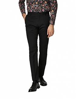 SELECTED HOMME Male Anzughose Slim-Fit- 50Black von SELECTED HOMME