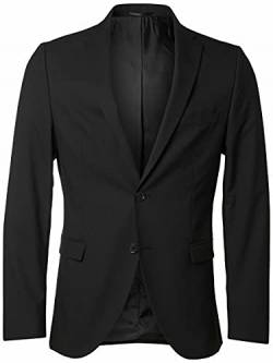 SELECTED HOMME Male Blazer Slim-Fit- 54Black von SELECTED HOMME