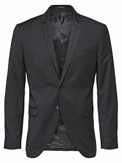 SELECTED HOMME Male Blazer Slim Fit 58Black von SELECTED HOMME