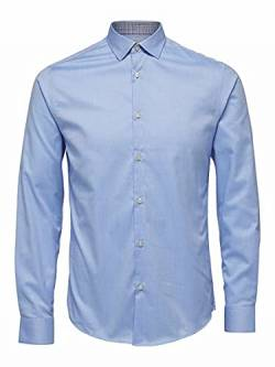 SELECTED HOMME Male Hemd Slim-Fit- MLight Blue von SELECTED HOMME