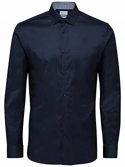 SELECTED HOMME Male Hemd Slim-Fit- XXLNavy Blazer von SELECTED HOMME