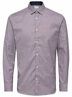 SELECTED HOMME Herren SHDONENEW-Mark Shirt LS NOOS Businesshemd, Mehrfarbig (Bright White Checks:Red/Navy/White), XX-Large von SELECTED HOMME