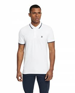 SELECTED HOMME Male Poloshirt Regular fit - XXLBright White von SELECTED HOMME