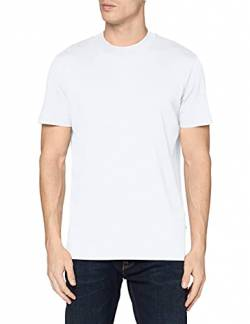 SELECTED HOMME Herren SLHRELAXCOLMAN200 SS O-Neck Tee S NOOS T-Shirt, Bright White, M von SELECTED HOMME