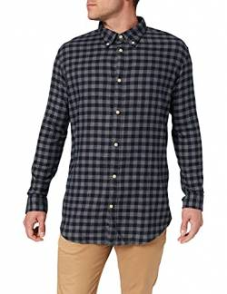 SELECTED HOMME Male Hemd Flannel SDark Blue 2 von SELECTED HOMME