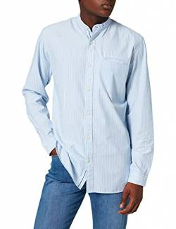 SELECTED HOMME Herren SLHSLIMTEXAS Shirt LS China W NOOS Hemd, Cerulean/Stripes:Stripes, S von SELECTED HOMME