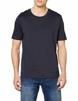 SELECTED HOMME Herren Slhtheperfect Ss O-Neck Tee B Noos T-Shirt, Blau (Dark Sapphire), X-Large von SELECTED HOMME