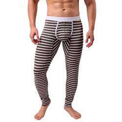 SOMESUN Herren Lange Unterhosen Unterwäsche Thermounterwäsche Lang Thermo-Unterhosen Snowboard Thermo Unterteile für Winter Warme Leggings Innenfleece Long Johns von SOMESUN