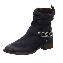 SPM Shoes & Boots Damen Stiefeletten Nevain Ankle Boot 06099177-004 blau 559865 von SPM