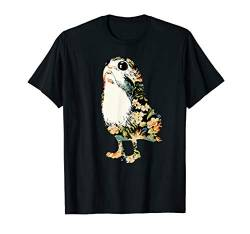 Star Wars Floral Print Tropical Porg T-Shirt von Star Wars