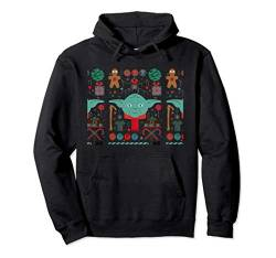 Star Wars Yoda Ugly Christmas Sweater Pullover Hoodie von Star Wars
